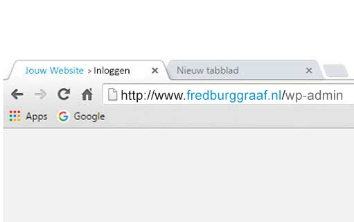 Inloggen-bij-wordpress-url