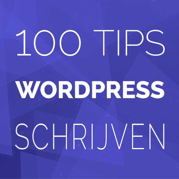 WordPress College - Schrijven