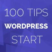 100 tips WordPress website