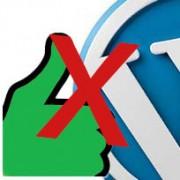 Wat zijn de nadelen van een WordPress website?