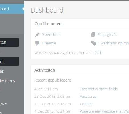 Het verschil tussen WordPress pagina's en berichten