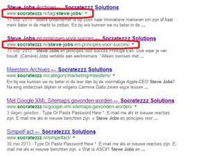 Wat zijn broodkruimels of breadcrumbs bij Google
